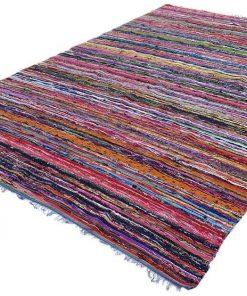 Flat Weave Rag Rug Kilim Salta