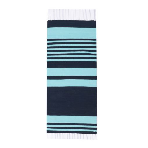 strip cotton blue dark light
